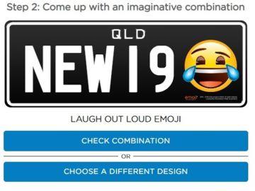 Las matrículas personalizadas de Queensland