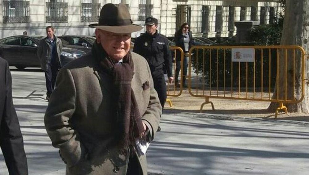 El exjefe de Asuntos Internos de la Policía Nacional, Marcelino Martín-Blas, en la Audiencia Nacional en una imagen de archivo