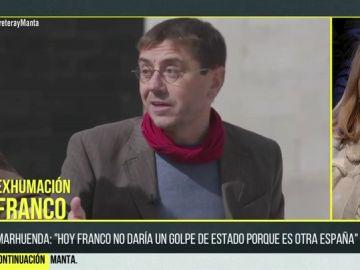 """Juan Carlos Monedero: """"La existencia de Franco convierte el Valle en un mausoleo pagado por las víctimas a su victimario"""""""