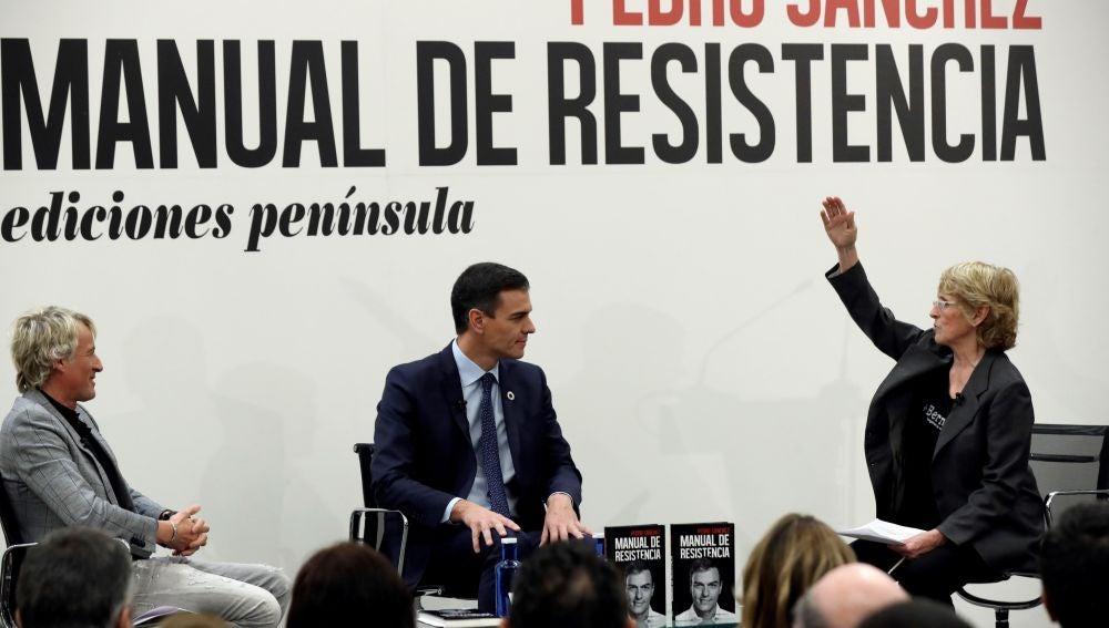 """El presidente del Gobierno presenta su """"Manual de resistencia"""""""