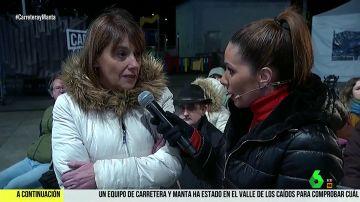 Juana Villanueva perdió a sus dos abuelos durante el franquismo