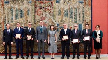 Entregados los Premios Nacionales de Investigacion