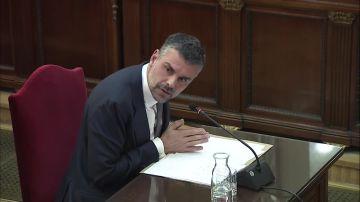 El exconseller de Empresa Santi Vila declara en el juicio del 'procés'