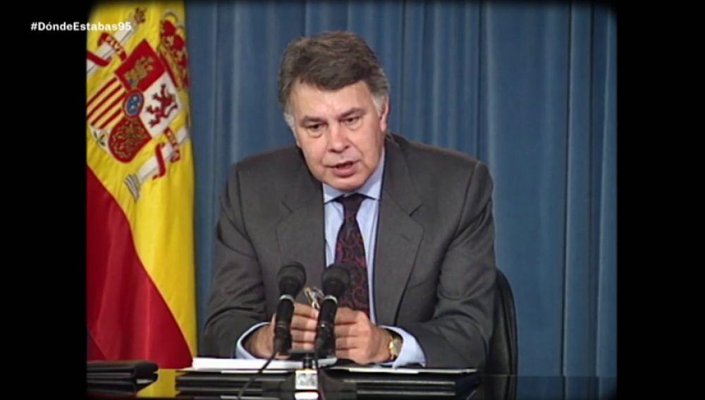 De los GAL al histórico rechazo a los PGE: así fue el año 'horribilis' de Felipe González como presidente en 1995