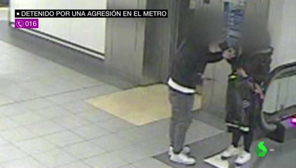 Detienen a un hombre por una terrible agresión machista gracias a una cámara del Metro de Madrid