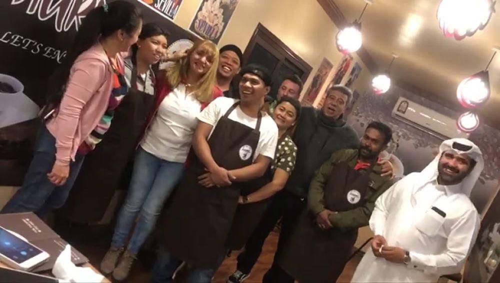 La asombrosa historia de Joaquina Benavente, una churrera de Alcorcón que ha llevado los famosos churros madrileños hasta Qatar