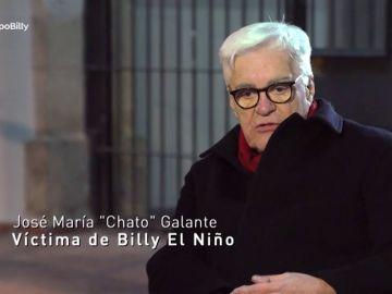 José María 'Chato' Galante, víctima de Billy el Niño