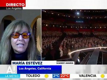María Estévez habla de los Oscar