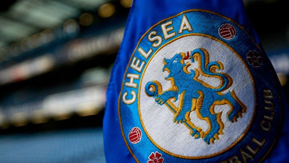 El escudo del Chelsea inglés