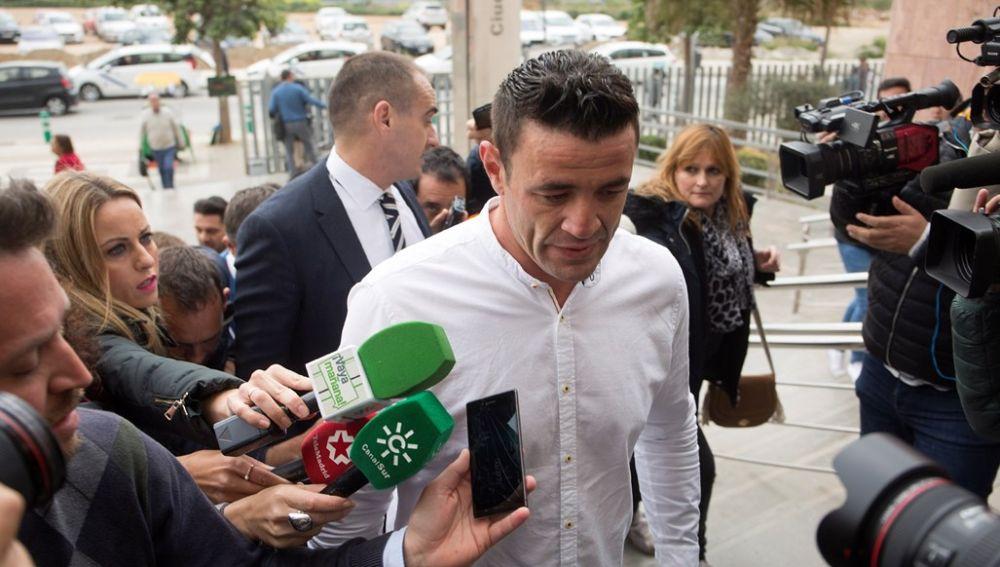 El dueño del terreno donde el niño Julen falleció al caer por un pozo en Totalan (Málaga), David Serrano