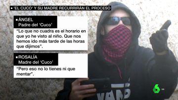 """Las grabaciones a los padres de El Cuco que prueban que engañaron al tribunal del caso Marta del Castillo: """"Le ha dado tiempo a ir, deshacerse y volver"""""""