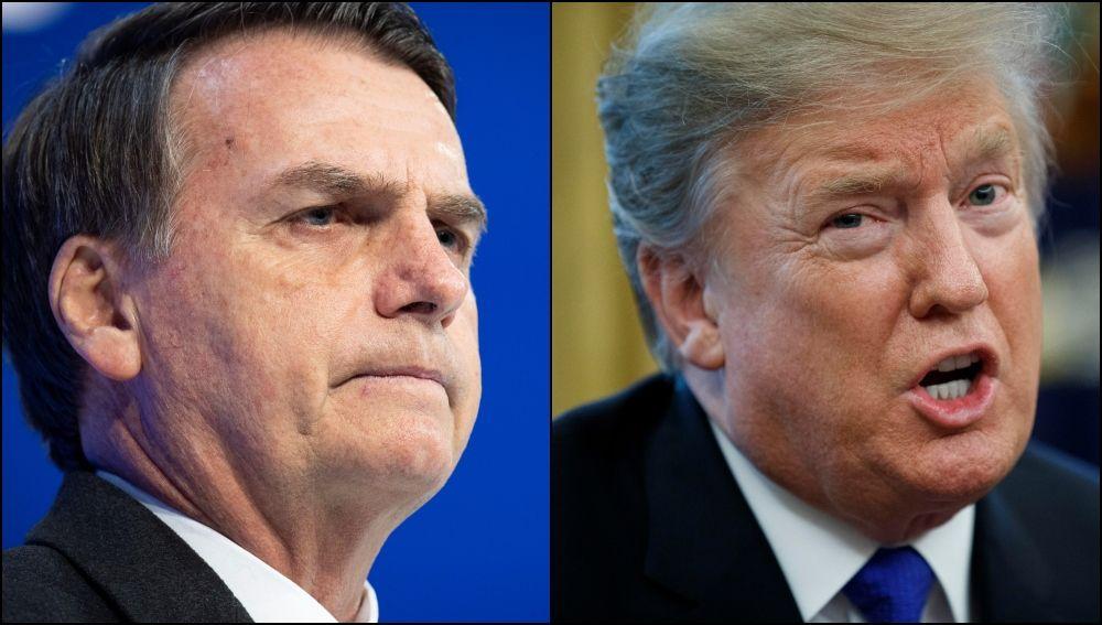 Donald Trump y Jair Bolsonaro