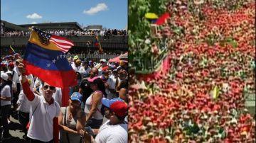 Manifestaciones en Caracas