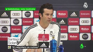 """Santiago Solari y el menor descanso ante el Barcelona: """"El calendario es curioso y divertido; lo tomamos como un reto"""""""