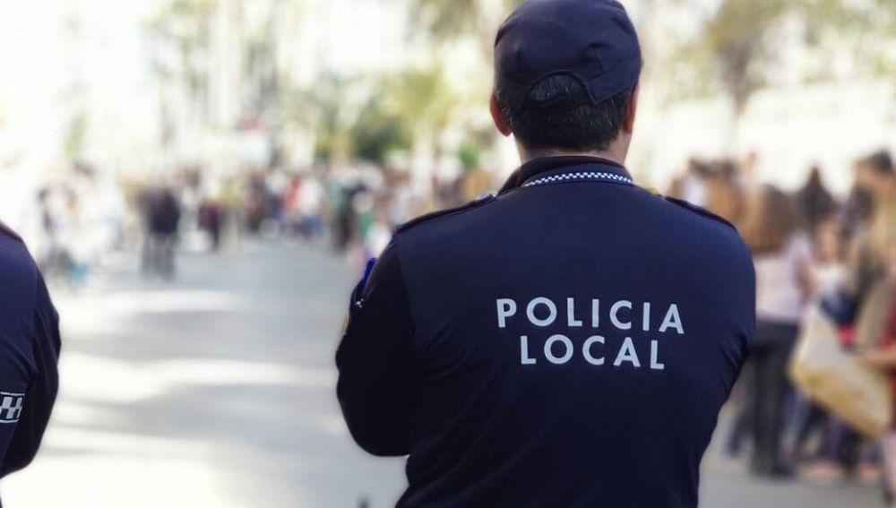 Agentes de la Policía Local de Elche