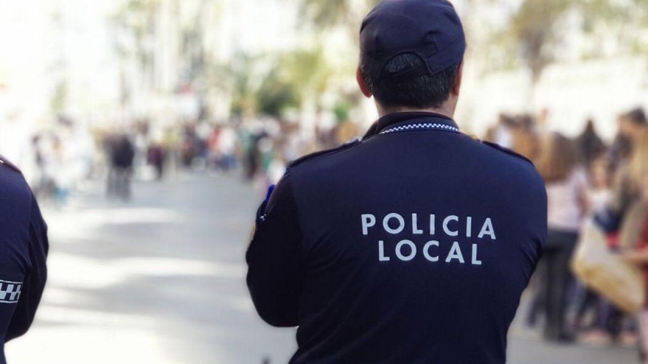 Agentes de la Policía Local de Elche.