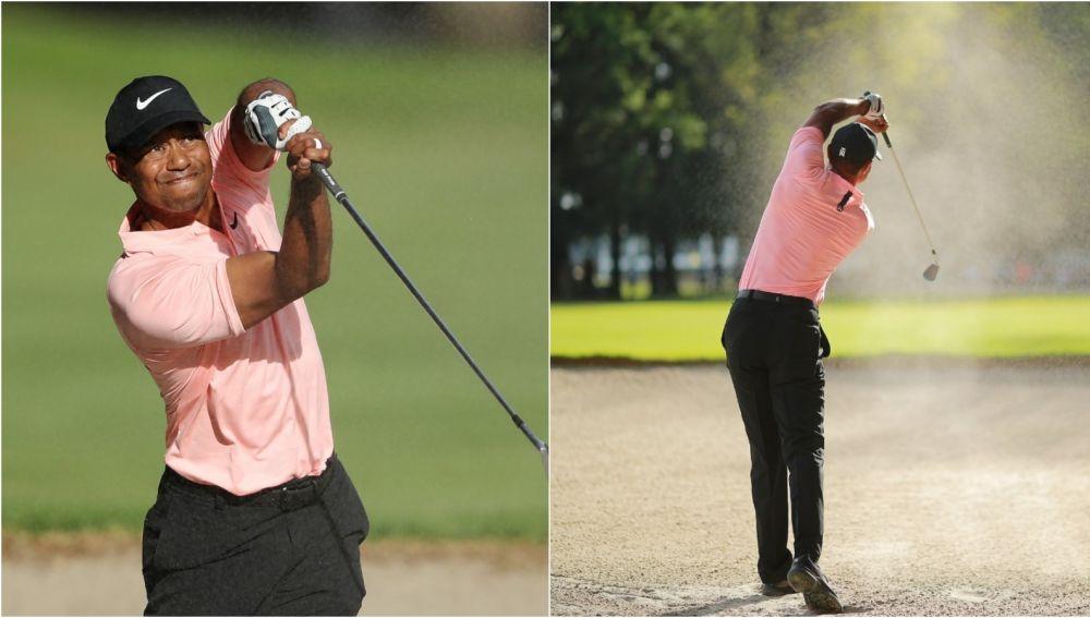 El golpe increíble de Tiger Woods en México