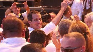 Juan Guaidó en Cúcuta
