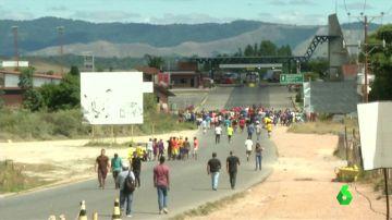 Al menos tres muertos en choques de las Fuerzas Armadas venezolanas en la frontera con Brasil