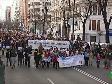 Manifestación por la educación concertada