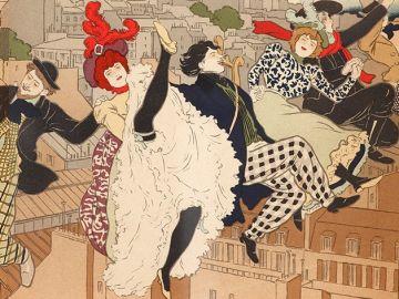 Cartel de la exposición 'Toulouse-Lautrec y el espíritu de Montmartre