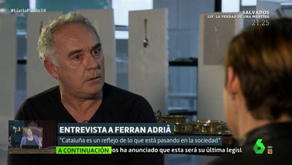 Ferran Adrià en Liarla Pardo