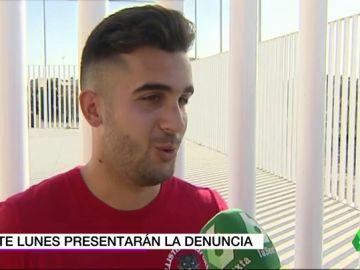 """Carlos Fraile, jugador del Écija agredido por un ultra del Xerez CD: """"Nos quitan las ganas de seguir jugando al fútbol"""""""