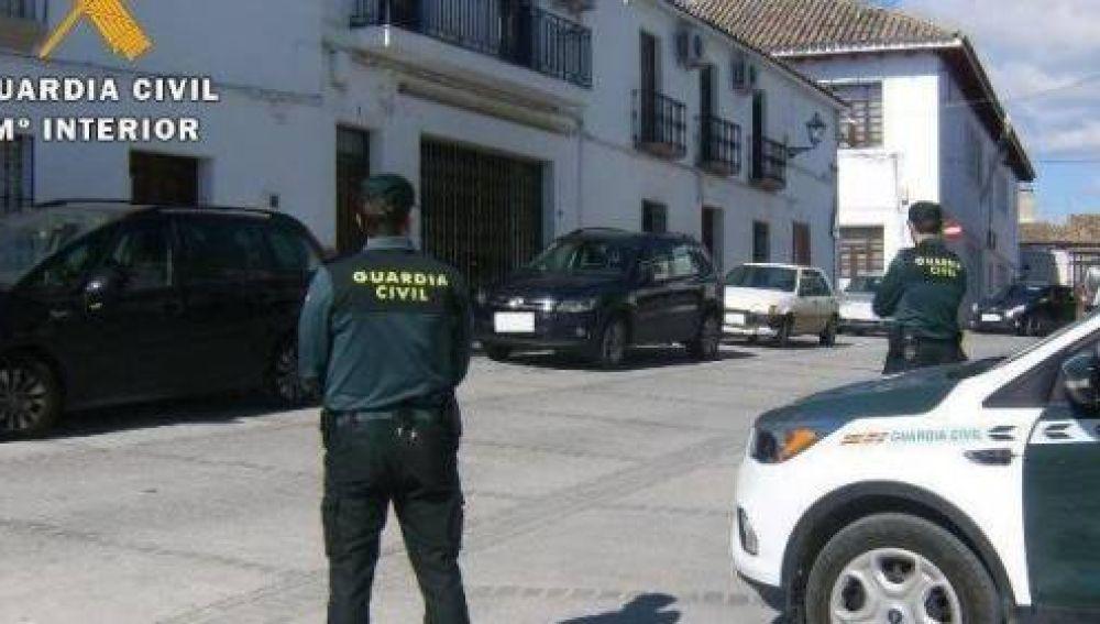 Operación de la Guardia Civil en Yuncos, Toledo