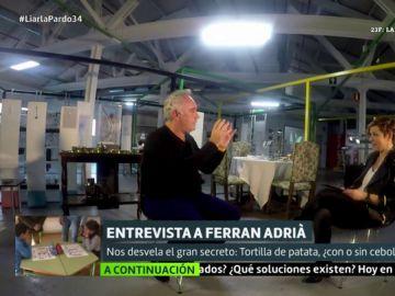 Ferran Adrià desvela el gran secreto: ¿tortilla de patata con cebolla o sin cebolla?