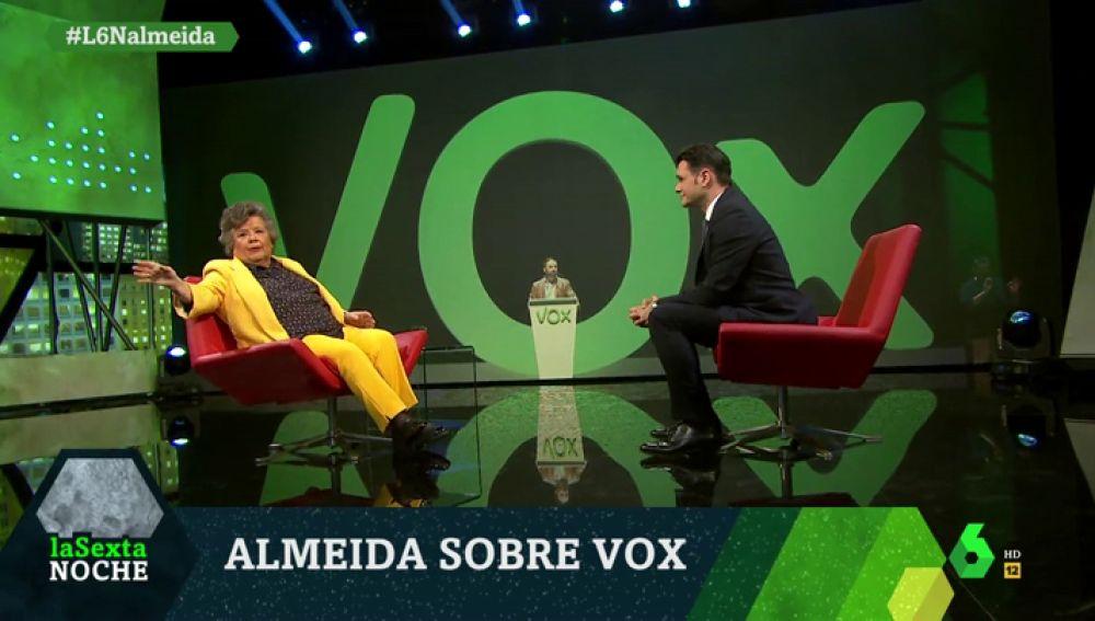 Cristina Almeida, en laSexta Noche