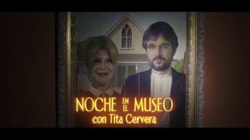 'Noche en el museo con Tita Cervera', el próximo domingo en Salvados