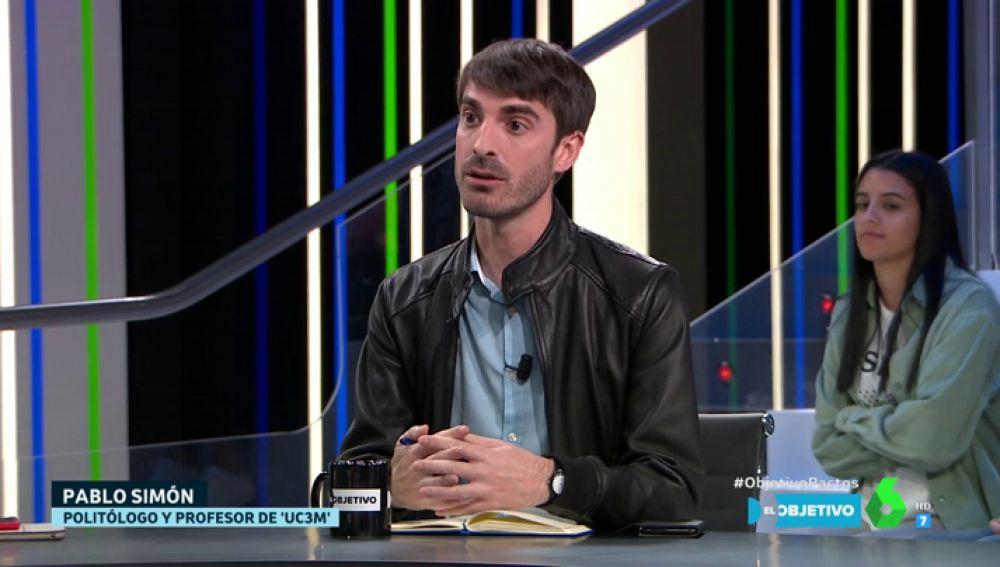 Pablo Simón, en El Objetivo