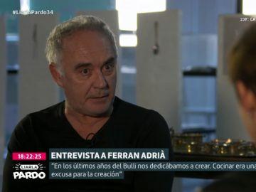 """El chef Ferran Adrià cuenta cómo pasó de """"estar 14 años sin ganar dinero"""" a """"generar 300 millones de euros anuales"""" con El Bull"""