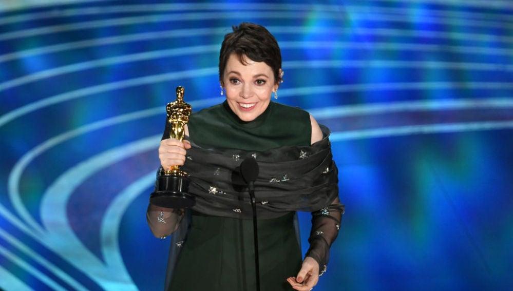 Olivia Colman se lleva el Oscar a la Mejor Actriz por 'La Favorita'