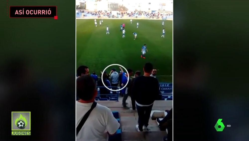 Imágenes inéditas de la agresión de los ultras del Xerez CD a dos jugadores del Écija