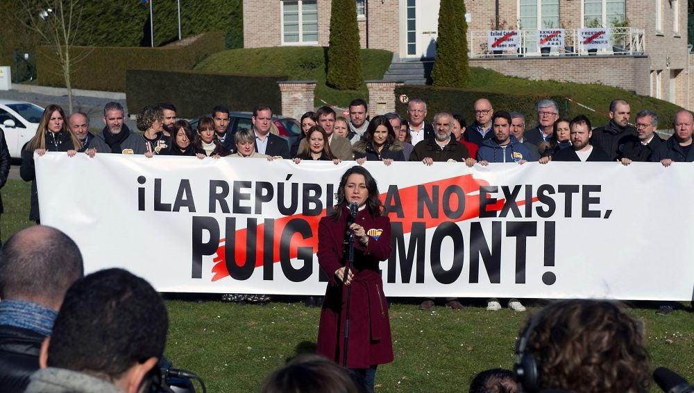 La portavoz nacional de Ciudadanos y líder de la oposición en Cataluña, Inés Arrimadas