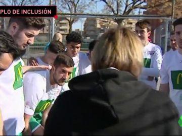 El Balafia B, el equipo con la mitad de su plantilla con discapacidad psíquica