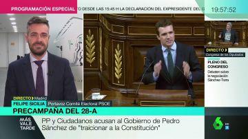 """Felipe Sicilia (PSOE): """"Nos preocupa el vídeo de Pablo Casado cuestionando el derecho de las mujeres a la maternidad"""""""