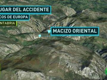 Muere un esquiador asturiano en los Picos de Europa tras despeñarse por una ladera