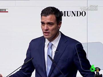 """El Intermedio le recuerda a Pedro Sánchez cómo hablaba de los decretos ley: """"Antes no le gustaban, ahora los usa hasta en campaña electoral"""""""