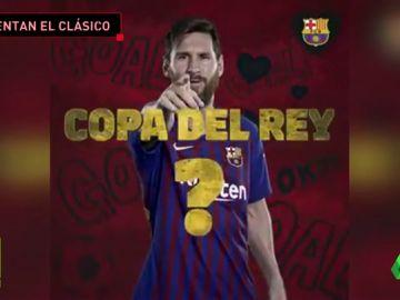 El Barça calienta el clásico