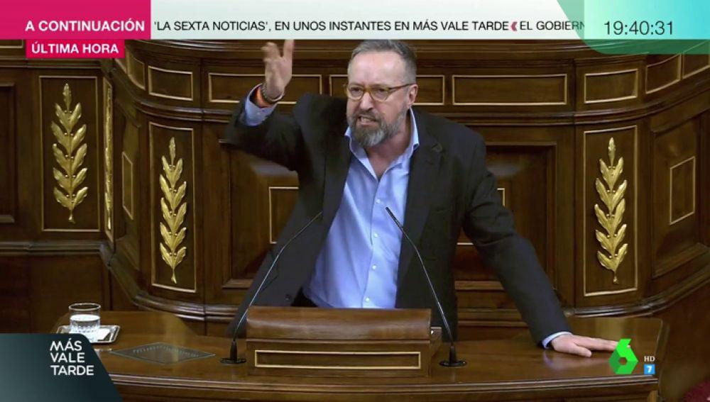 El portavoz de Ciudadanos en el Congreso, Juan Carlos Girauta