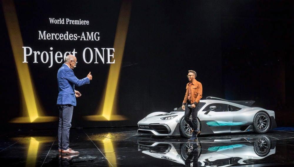 Lewis Hamilton quiere una edición especial 'LH' del Mercedes-AMG Project One