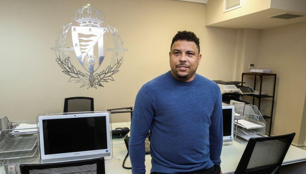 Ronaldo Nazario, presidente del Valladolid
