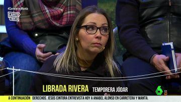 Librada Rivera, temporera Jódar
