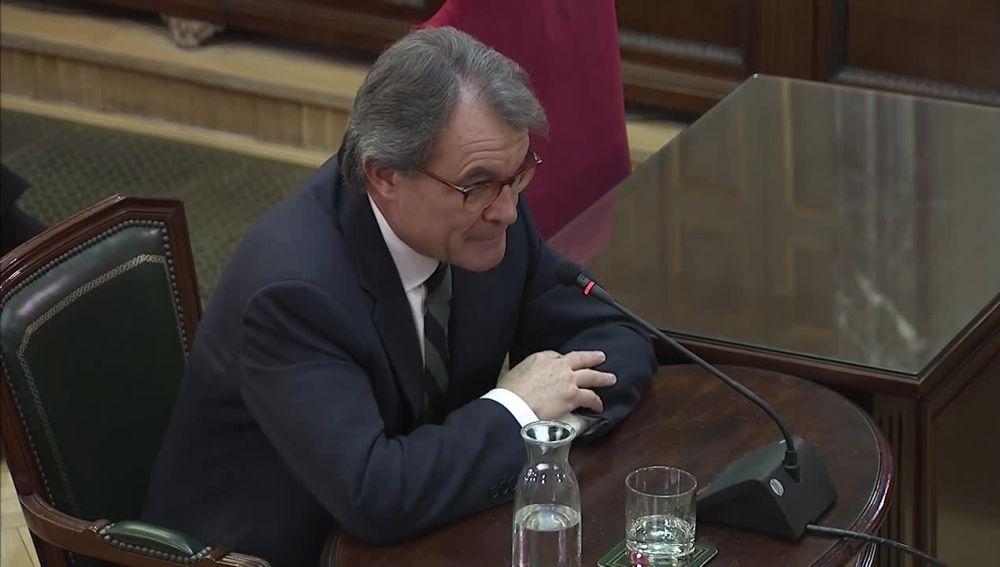 Artur Mas declara en el juicio del 'procés'