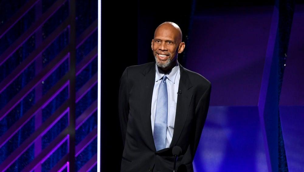 El exjugador de la NBA Kareem Abdul-Jabbar
