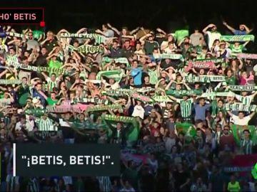 11.000 aficionados en el entrenamiento del Betis