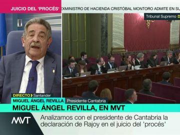 """Miguel Ángel Revilla: """"Es lamentable que en campaña electoral sólo se hable de Cataluña"""""""