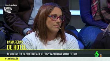 Mayte López, presidenta Kellys Unión Granada